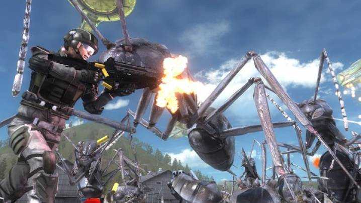 Truques Earth Defense Force 5: