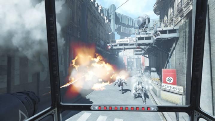Truques Wolfenstein: Cyberpilot: