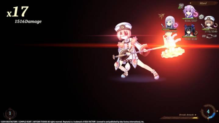 Trucchi Super Neptunia RPG: