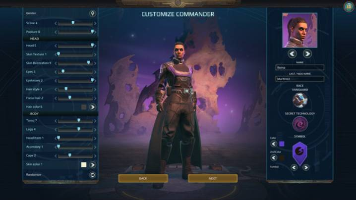 Truques Age of Wonders: Planetfall: Objetivos de Steam