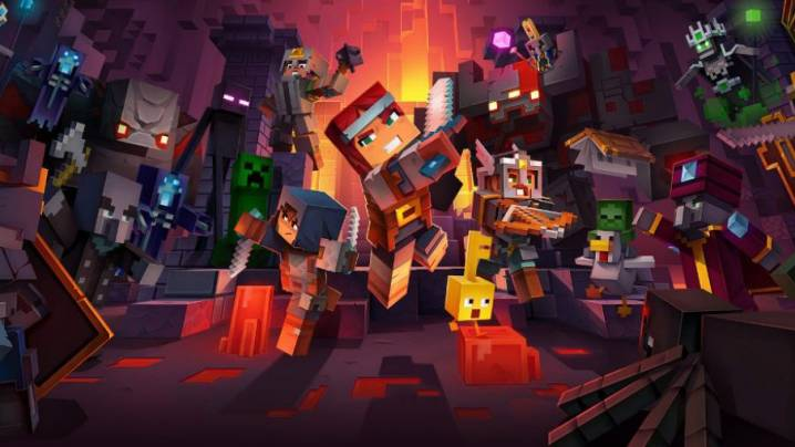 Astuces Minecraft Dungeons: De l'expérience, des pierres précieuses et des Objets de l'infini