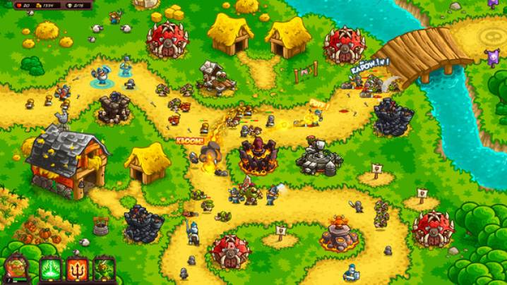 Truques Kingdom Rush Vengeance - Tower Defense:
