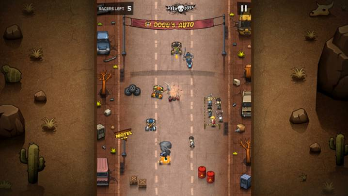 читы Rude Racers: 2D Combat Racing: