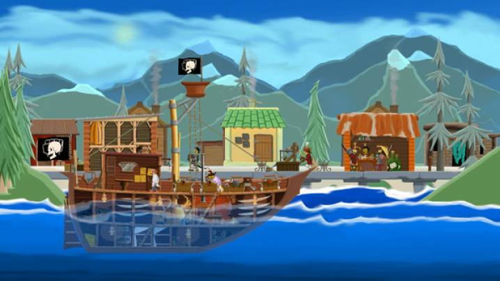 Trucchi A pirate quartermaster:
