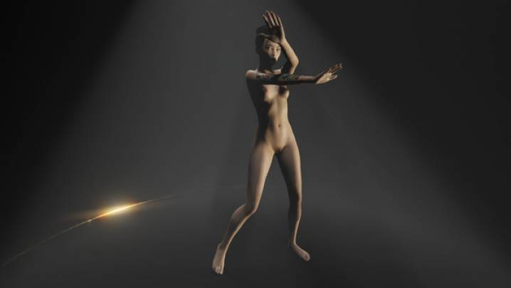 Trucchi Naked Erotic Dance Girls: