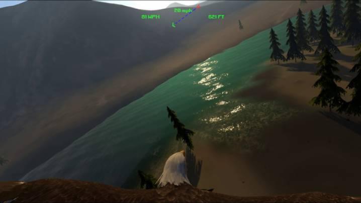 Trucchi Aquila Bird Flight Simulator: