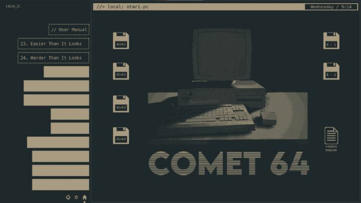 Trucchi Comet 64: