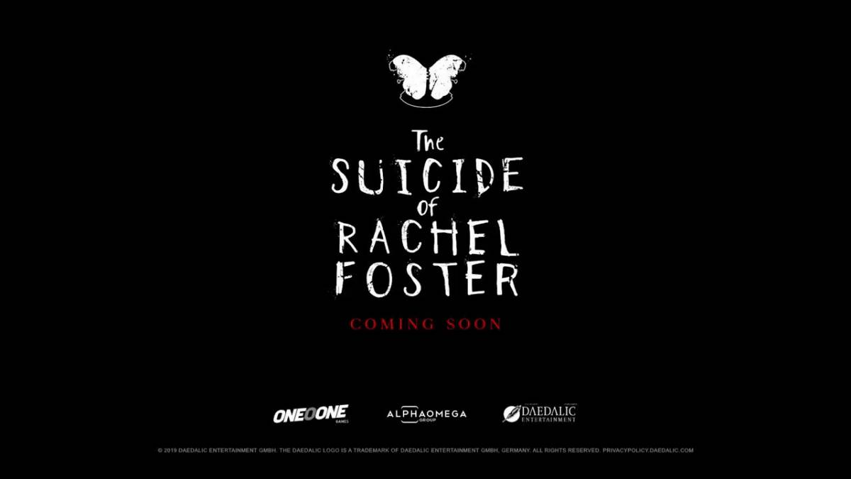 The Suicide of Rachel Foster: