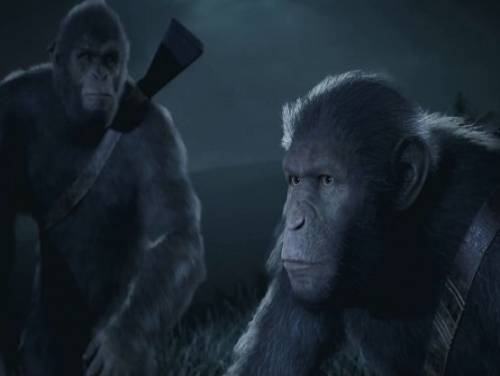 Planet of the Apes: Last Frontier: Trama del Gioco