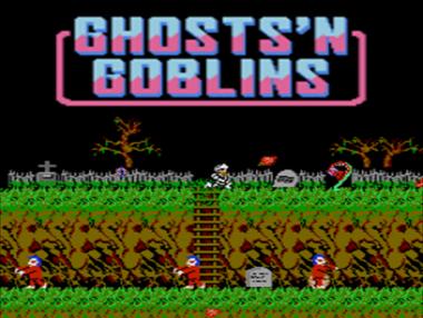 Ghost'n Goblins Mobile: Trama del Gioco