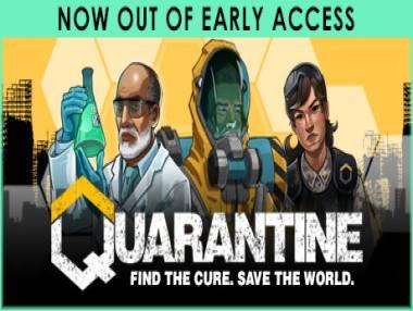 Quarantine: Trama del Gioco