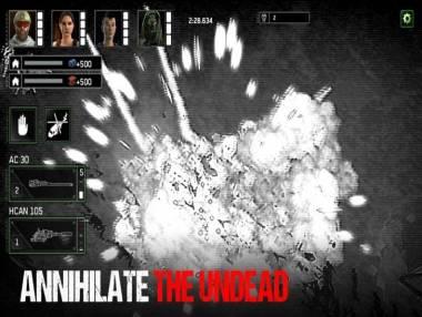 Zombie Gunship Survival: Trama del Gioco