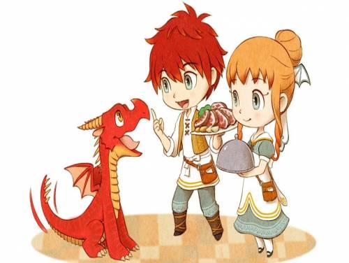 Little Dragons Cafe: Trama del Gioco