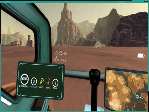 Mars Alive: Parcela do Jogo