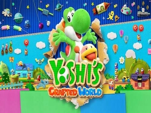 Yoshi's Crafted World: Trama del Gioco