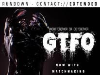 GTFO: Trainer (0.1): Saúde infinita, Munição infinita e Sem tempo de recuperação da pistola de cola