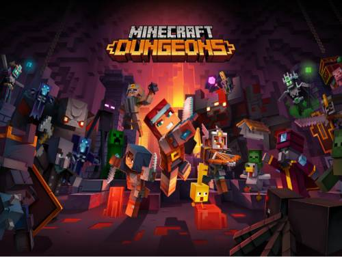 Minecraft Dungeons: Plot of the game