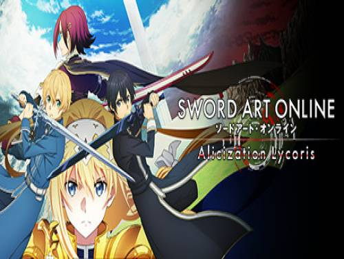 Sword Art Online Alicization Lycoris: Trame du jeu