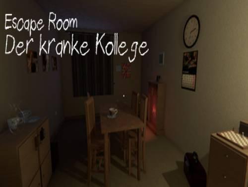 Escape Room - Der kranke Kollege: Plot of the game
