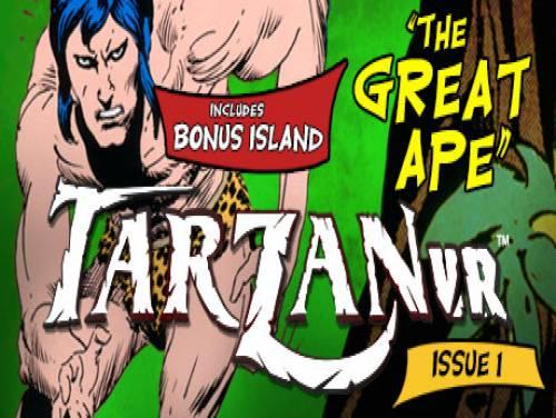 Tarzan VR Issue #1 - THE GREAT APE: Trama del Gioco