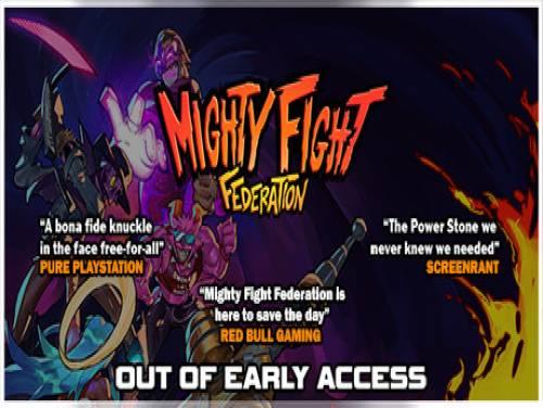 Mighty Fight Federation: Trama del Gioco