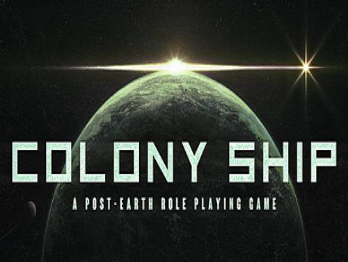 Colony Ship: A Post-Earth Role Playing Game: Trama del juego