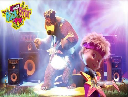Masha and the Bear: Giochi musicali per bambini: Trama del Gioco