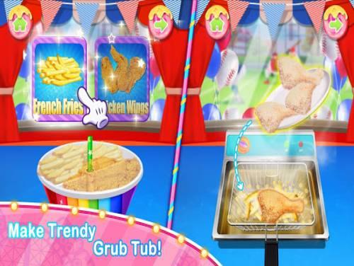 Unicorn Chef Carnival Fair Food: Games for Girls: Trama del Gioco