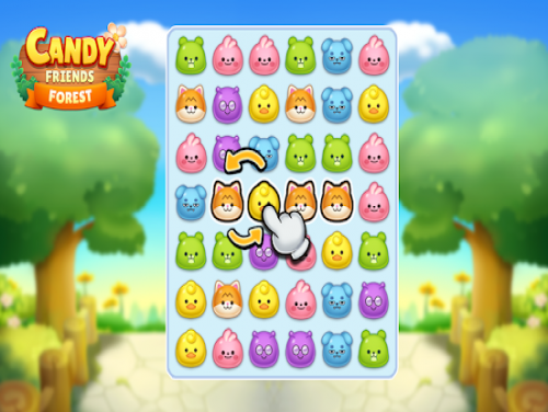Candy Friends Forest: Puzzle Match 3: Trama del Gioco