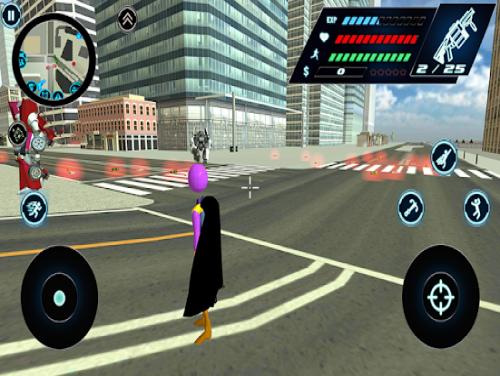 Flying Thanos Stickman Rope Hero Gangster Crime: Trama del Gioco