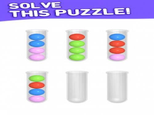 Sort Puzzle: Fun Ball: Trama del Gioco