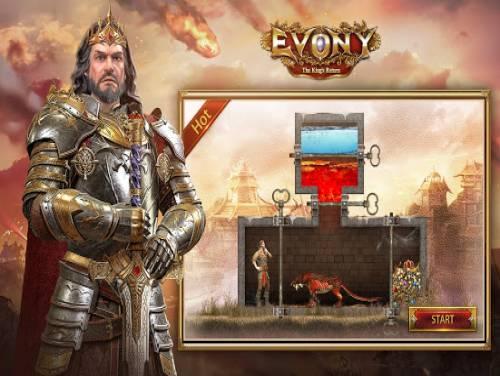 Evony - Il Ritorno del Re: Trama del Gioco