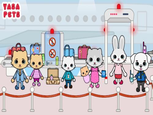 Yasa Pets Airport: Trama del Gioco