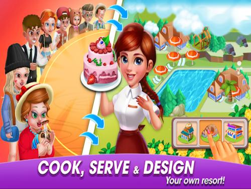 Cooking World: cucina,servi e crea il tuo resort!: Trama del Gioco
