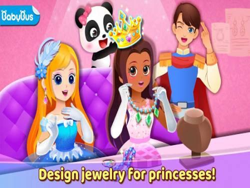Creazione gioielli principesse del Piccolo panda: Trama del Gioco