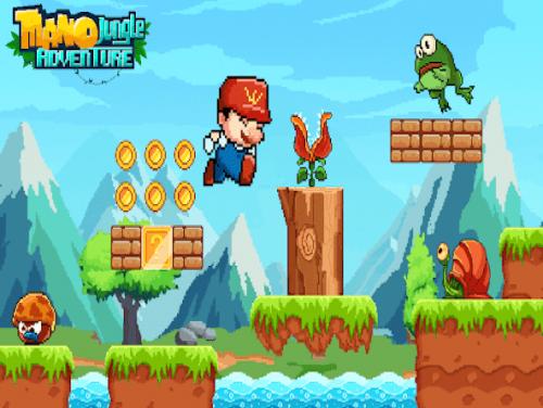 Mano Jungle Adventure: Gioco Arcade Classico 2020: Trama del Gioco