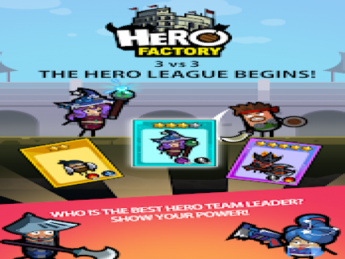 Trucchi di Hero Factory per ANDROID / IPHONE