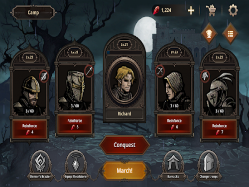 King's Blood: The Defense: Enredo do jogo