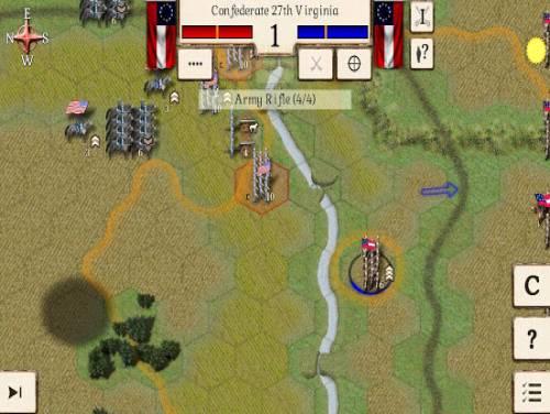 Great Battles of the American Civil War: Trama del Gioco