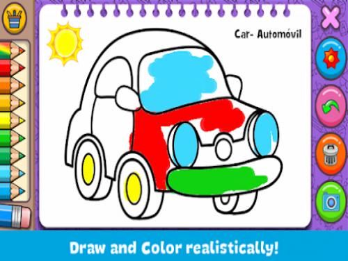 Coloring & Learn: Trama del Gioco