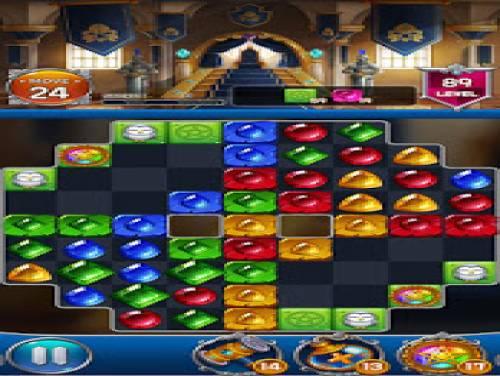 Jewel Royal Castle: Match3 puzzle: Trama del Gioco