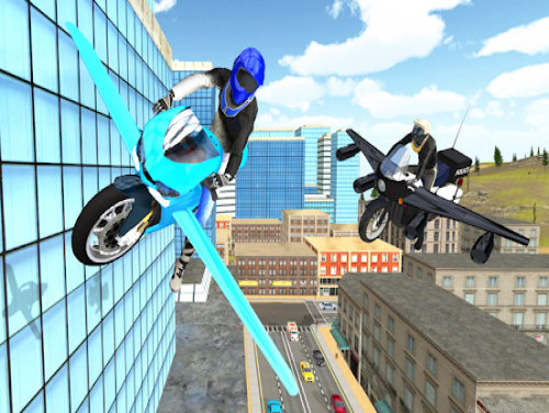 Flying Motorbike Simulator: Trama del Gioco