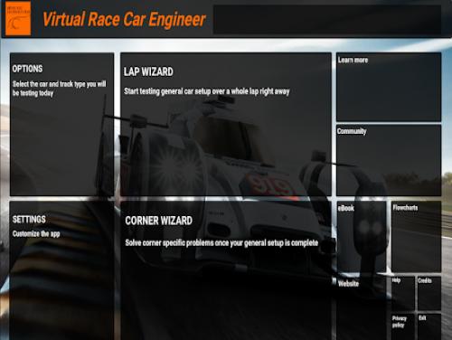 Virtual Race Car Engineer 2020: Trama del Gioco