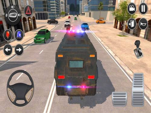 American Police Car Driving: Offline Games No Wifi: Trama del Gioco