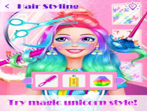 Unicorn Makeup Dress Up Artist: Trama del Gioco