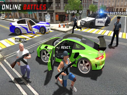 Police vs Crime - ONLINE: Trama del Gioco