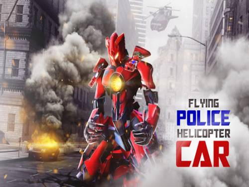 Flying Police Helicopter Car Transform Robot Games: Plot of the game