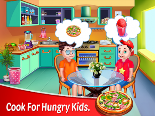 Kids In Kitchen - Cooking Recipes Restaurant Game: Plot of the game