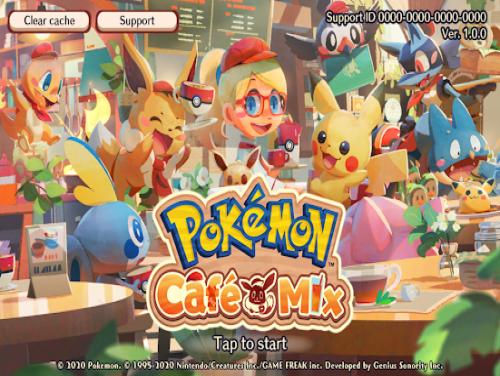 Pokémon Café Mix: Trama del Gioco