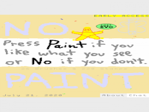 No Paint: Plot of the game